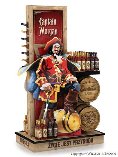 1. Captain Morgan's Rum